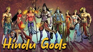 The Most Important Hindu Gods: Shiva - Vishnu - Brahma - Hanuman - Ganesha - Vol 1- See U in History