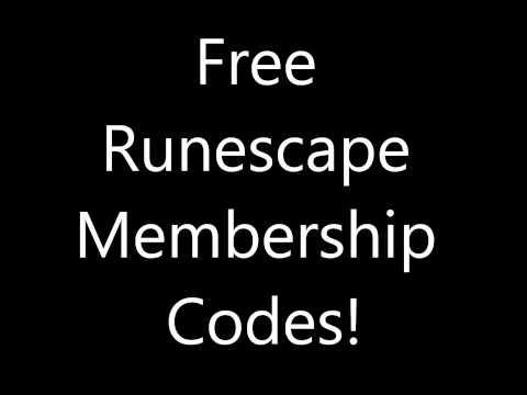 [NO DOWNLOADS] Free Runescape Membership Pins! [WORKING 01/07/12]