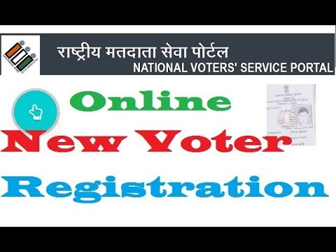 How To Online Apply/Registration Voter Id/Election Card Form 6 Application Hindi HD 720p,1080p हिंदी
