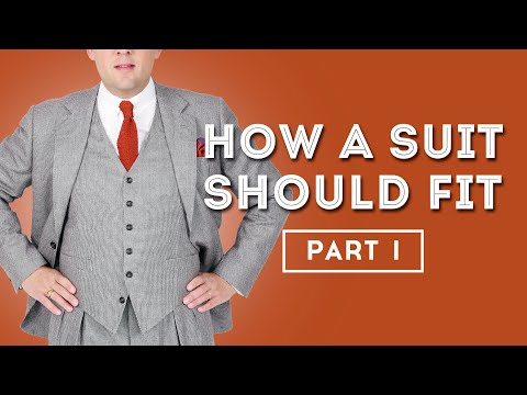 How A Suit Should Fit - Men's Suits Fit Guide - Gentleman's Gazette