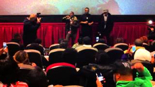 """Kevin Hart and Ice Cube introduce """"Ride Along"""" in person in North Philly"""