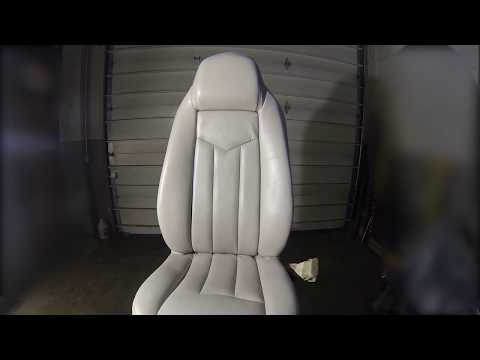 How to make car leather or vinyl seats look new again !