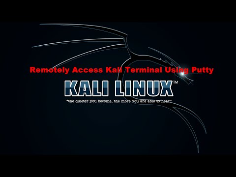 How to Remote Access Kali Linux on Raspberry Pi 2