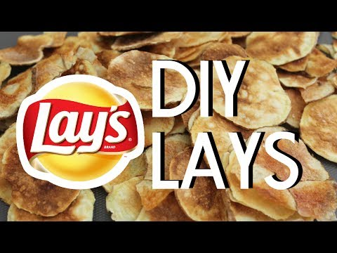 How To Make Potato Chips | Easy Microwave Method