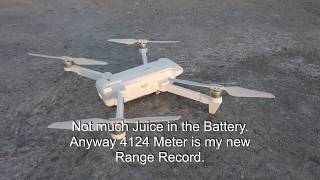FIMI X8 SE Footage 4K #015 Range Test 4