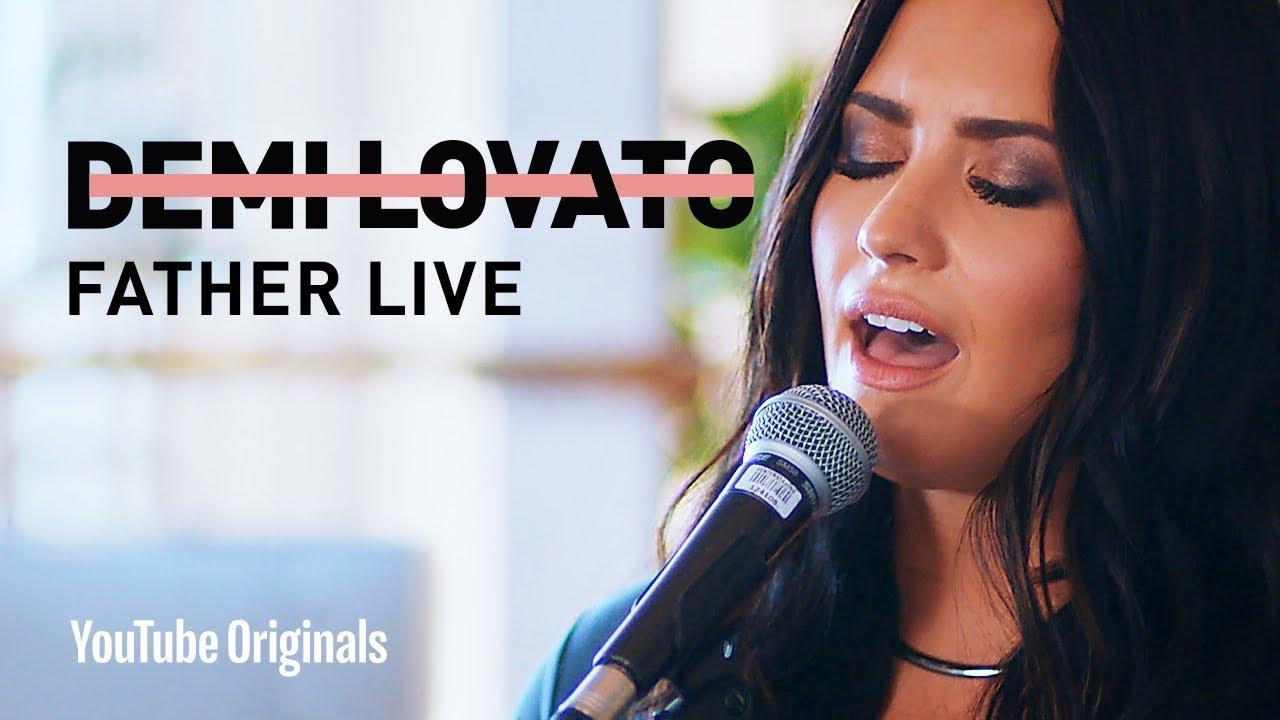 """Demi Lovato - """"Father"""" Live"""