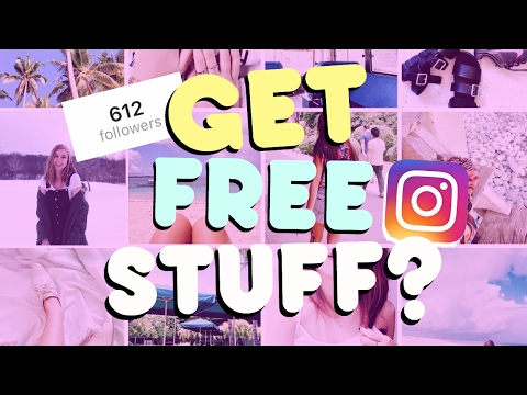 GET FREE STUFF FOR INSTAGRAM! (under 1,000 followers)