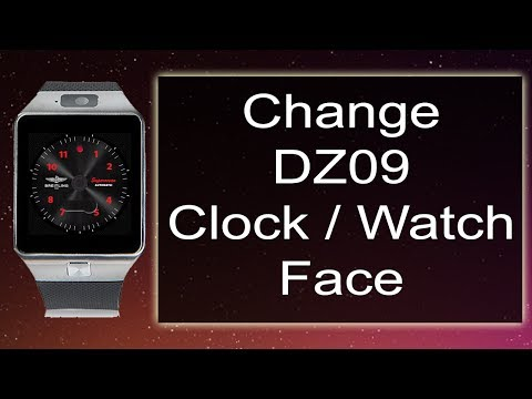 How to Change Watch Face or Clock Face on DZ09 Smartwatch ⌚🔥
