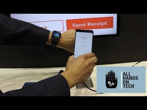 Accept Mastercard card payments with a smartphone app