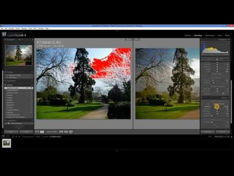 How to add a Vignette effect using Adobe Lightroom (Tutorial)