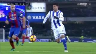 Real Sociedad vs FC Barcelona 1-1 All Goals [Jornada 13][27/11/2016] El Barça juga a RAC1