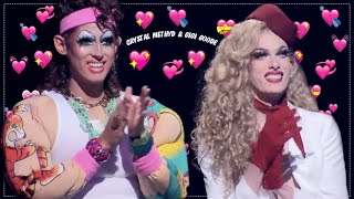 Crystal Methyd & Gigi Goode talking about each other for 9 minutes