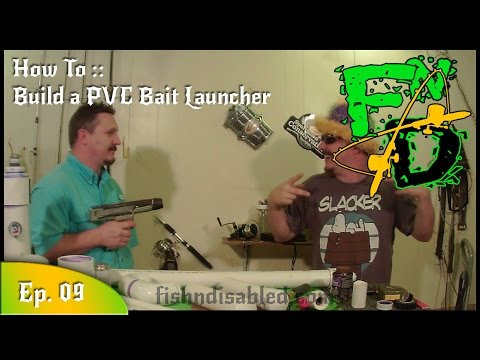 Low Cost Bait Launcher