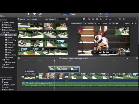 Tutorial: How to Overlay Video/Pictures in iMovie '14 Version 10.0.4 (Picture in Picture)