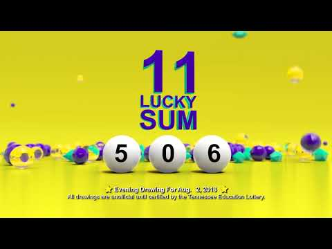 Tennessee Lottery Evening_C3_C4_LS 08/02/2018