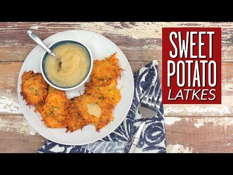 Sweet Potato Latkes | Cooking Tutorial
