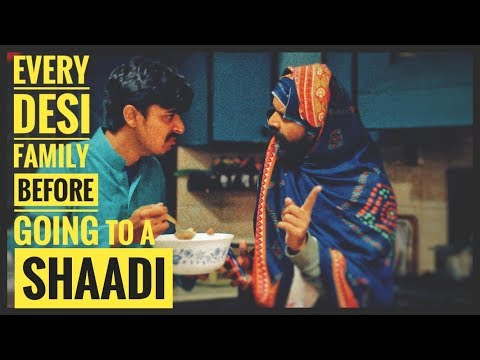 Every Desi Family Before Going To A Shaadi | Bekaar Films