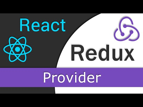 React JS / Redux Tutorial  - 6 - Provider