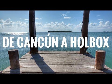 Como llegar a Isla Holbox y donde comer rico y barato | Quintana Roo #1