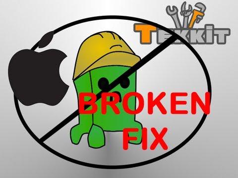 Tekkit / Technic Crash Fix For ! Mac !   [Really Works]