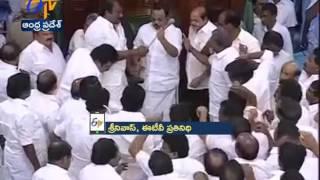 Tamil Nadu Assembly   DMK MLAs evicted after violence   House adjourned again till 3 pm