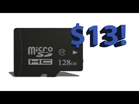 128GB For $13!! | Micro SD Card Review
