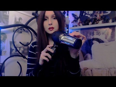 [ASMR] Binaural Gently Blow-Drying Your Hair (No Talking)