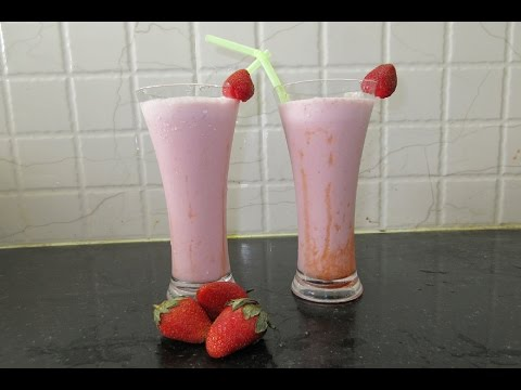HOW TO MAKE STRAWBERRY MILKSHAKE