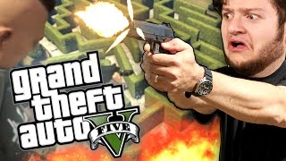 GTA 5 - BE GENTLE WITH JAMES! (GTA 5 PC Online Funny Moments!)