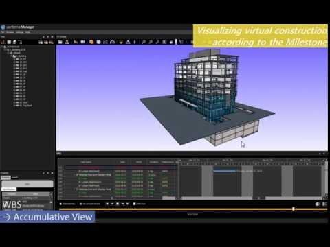 Construction BIM Program: WBS (Work Breakdown Structure) function
