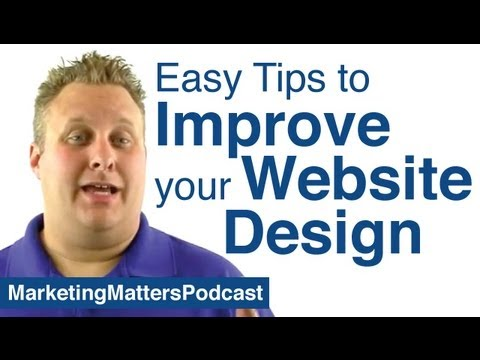 Easy Tips To Improve Your Website Design