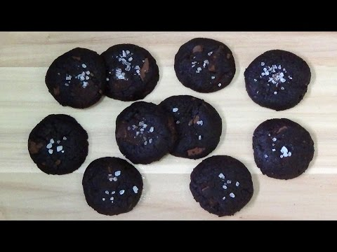 how to make salted chocolate cookies