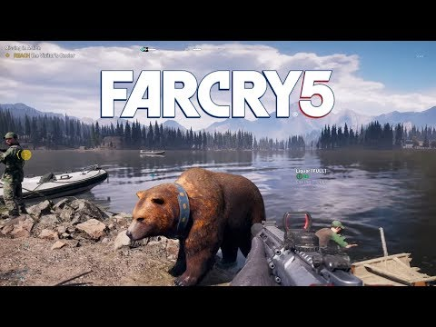 Far Cry 5 Part 17 - Cliffhanger and Salvage Rites Prepper Missions