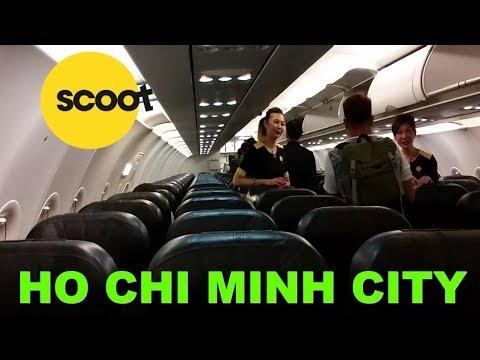 RARE Scoot /Tigerair A319 flight review from Singapore to Ho Chi Minh City, Vietnam