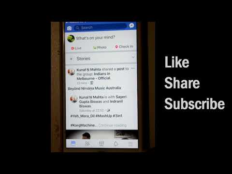 How to log out of Facebook iOS or iPhone app