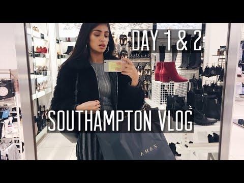 VISITING SISTER AT SOUTHAMPTON & SHOPPING VLOG🛍🛳 DAY 1 & 2 |Kim Mann
