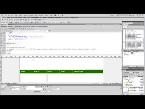 Dreamweaver Tutorial - Part Six - Adding Copyright Information and Styling the Text