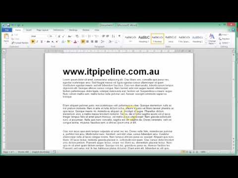 How to save a document as a pdf file