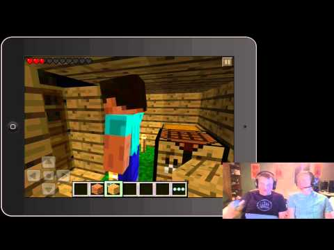 Matt and Jamie play Minecraft: Pocket Edition!
