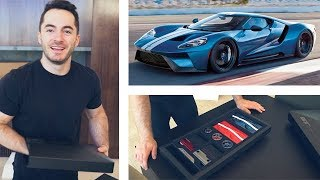 Unboxing the Ford GT Ordering Kit
