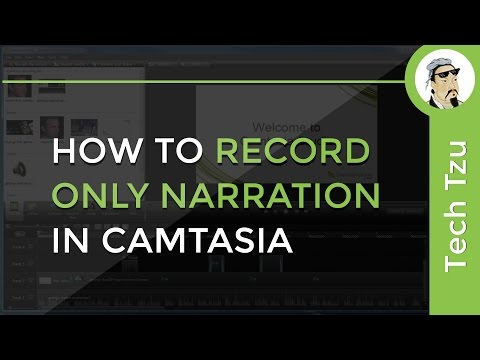 How to Record Only Voice in Camtasia