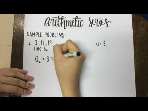 Arithmetic Series Tutorial