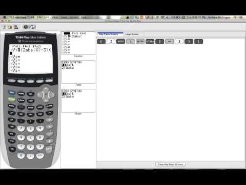 Inputting domain into calculator