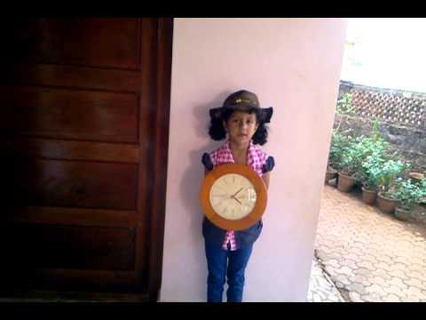 Clock fancy dress