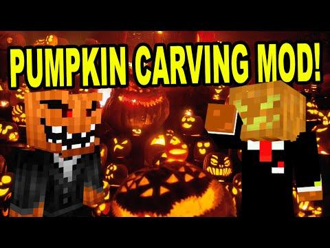 Minecraft | PUMPKIN CARVING MOD! |