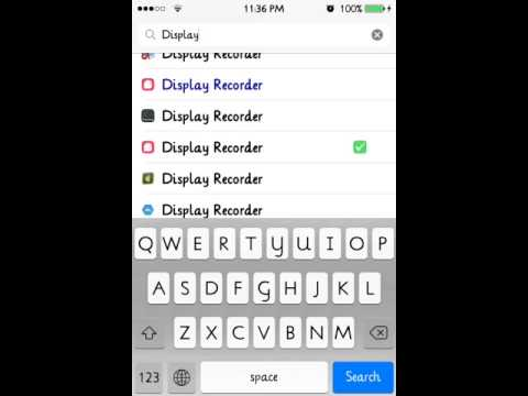 How to get display recorder for free! (Must be jailbroken)