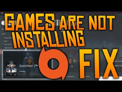 Origin Games not INSTALLING Error FIX!! (Any Origin Games) w/BF3