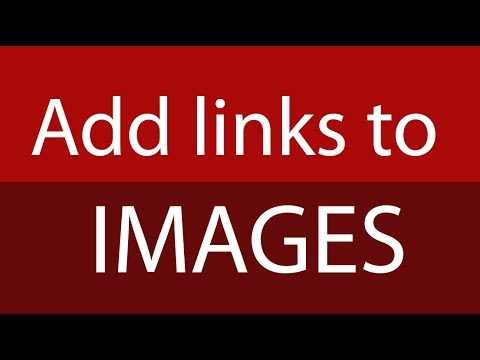 How to add a url to an image in HTML