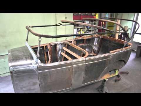 1929 Nash Touring Car Pot Metal Repair with Super Alloy 1