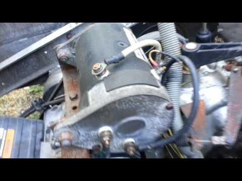 FE350 Club Car Starter Removal